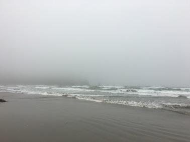 Marine layer at Morro Bay