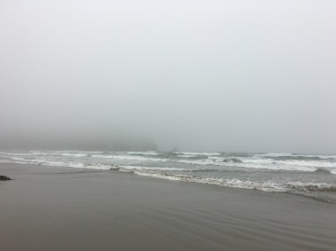 Marine layer at Morro Bay